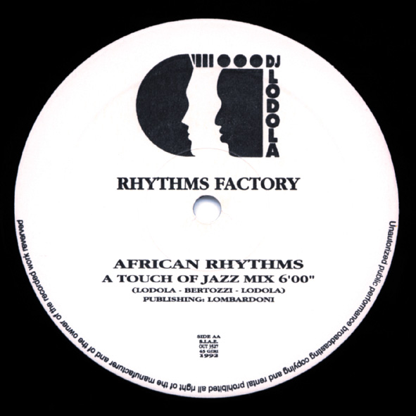 African Rhythms Rhythm Factory disco mix