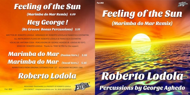 Copertina feeling of the sun sito